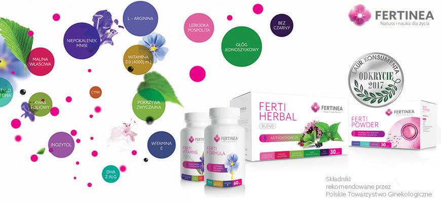 Suplementy diety fertinea